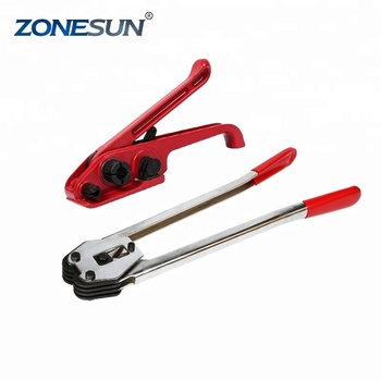 ae6fc3593d8 ZONESUN manual poly strapping sealer and tensioner set sealer and tensioner  set manual sealer machine