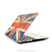 Matte Rubberized hard case with print for MacBook Pro 13 with Retina display Case