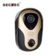 Two-way intercom wireless front door peephole doorbell camera
