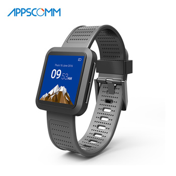 2017 APPSCOMM Smart Watch Touch Screen Bluetooth Waterproof Heart Rate Monitor for Andriod Phones and Iphone