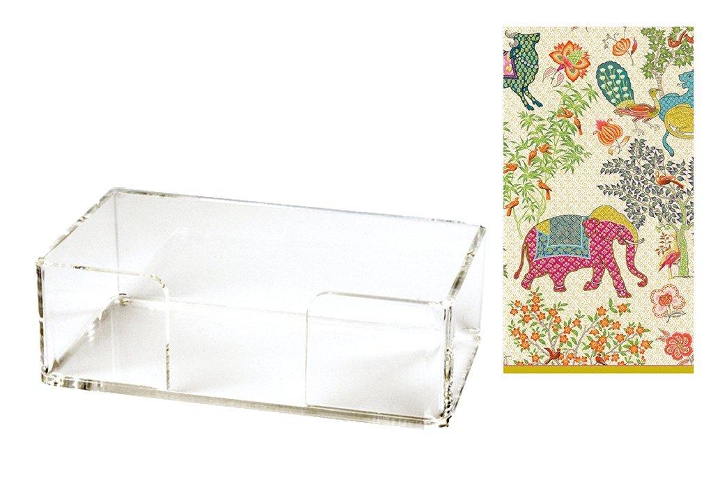 paper hand towel holder. Hand Towel Holder Acrylic With 30 Le Jardin De Mysore Paper Towels Lucite 6MM U