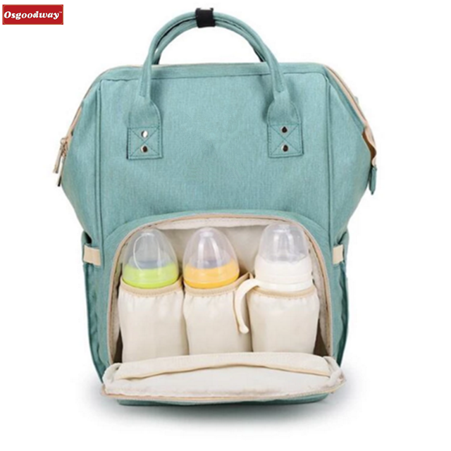 Osgoodway New Products Wholesale Fashion Style Custom Designer Diaper Bag Backpack for Travel Outdoor