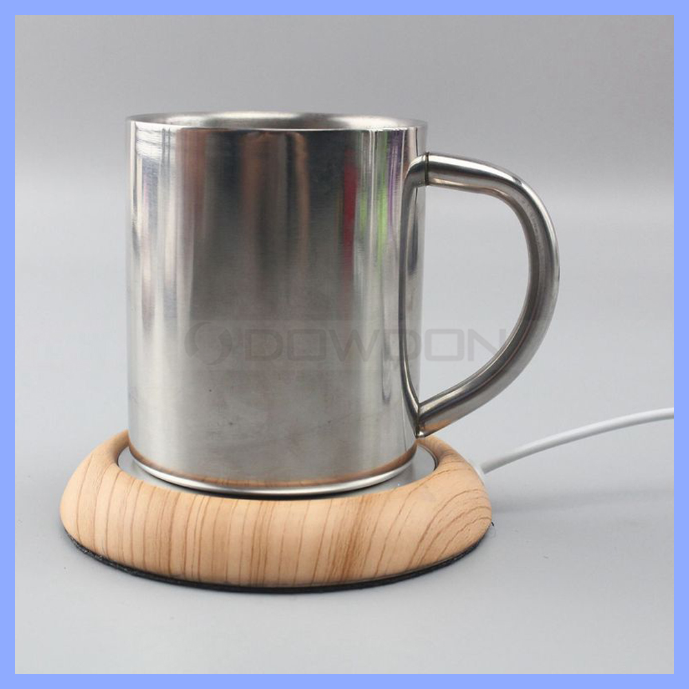 Portable Desktop Riscaldata Coffee & Tea Regalo di Promozione USB Cup Warmer