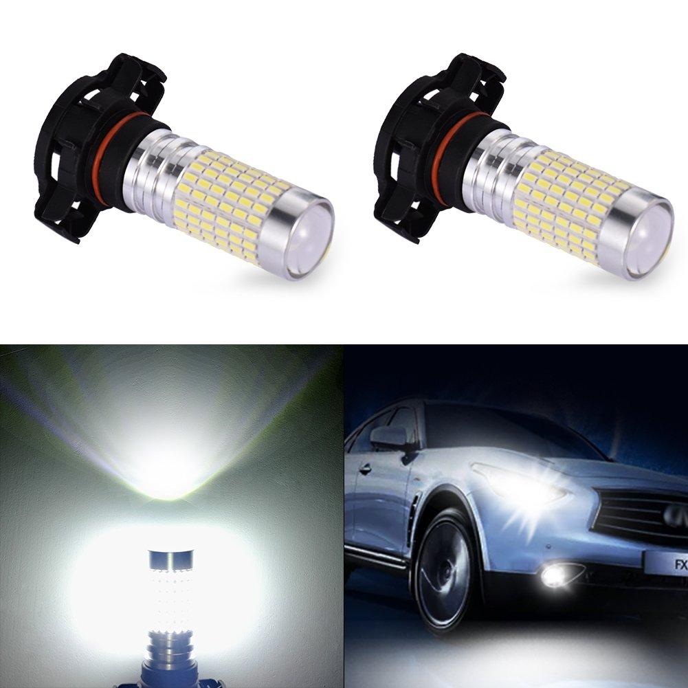 Xenon White H16 2504 5202 11W CREE Plasma LED Car Fog Light Driving Bulb