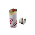 wholesale candle matches wooden safety matches for sale cylinder long matches