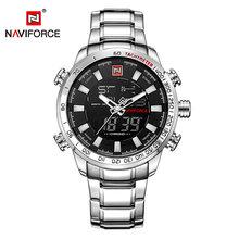 Новые роскошные Брендовые мужские спортивные наручные часы, мужские военные водонепроницаемые часы, мужские полностью стальные светодиод...(Китай)
