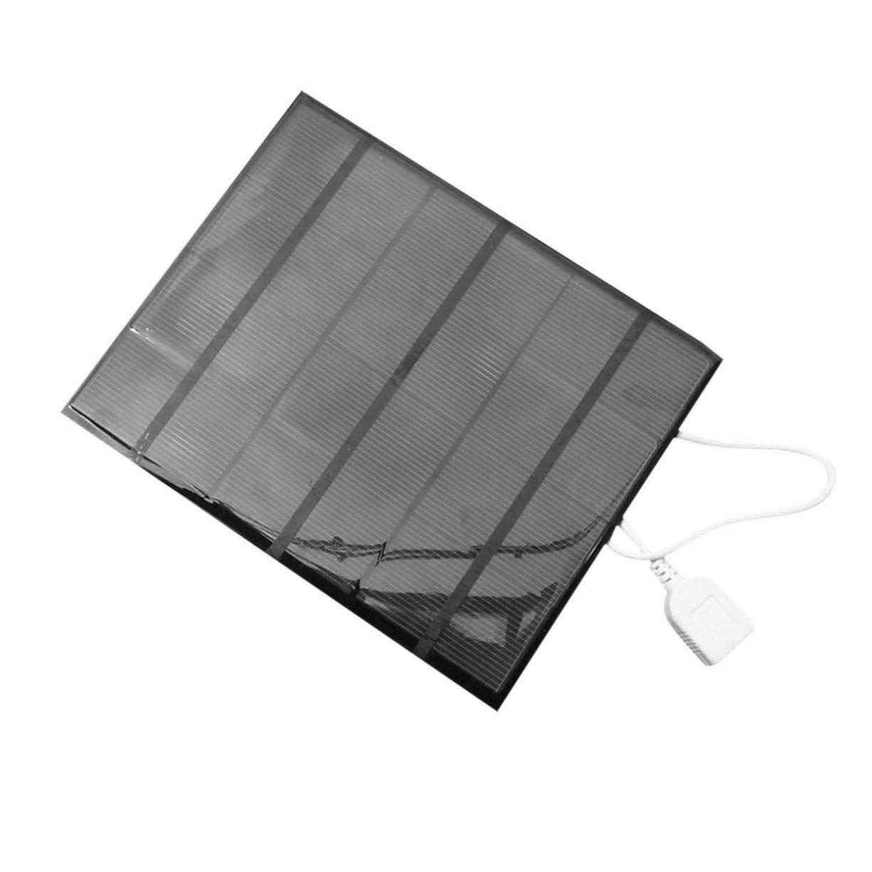 3.5W 6V USB Solar Panel Power Bank External Battery Charger Outdoor Travelling DIY Charger For Mobile Phone Tablet