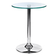 Guaranteed quality proper price wine bar furniture transparent ABS plastic bar table