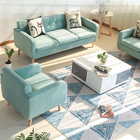 Clean Simplicity fabric wooden furniture model sofa set sex wedding sofa chair for Bride and groom