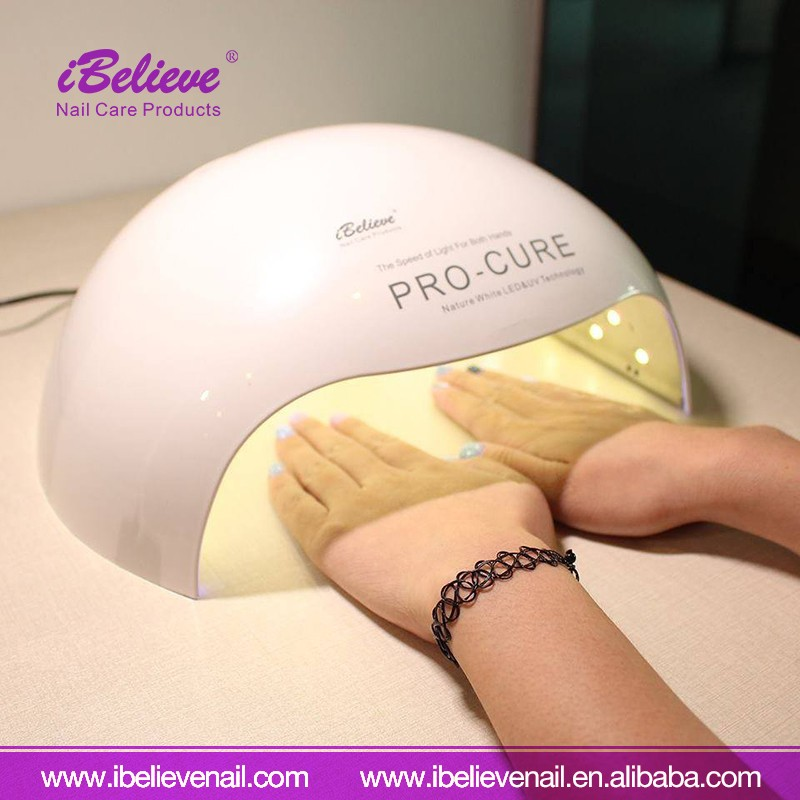 IBelieve High Quality 72w Powerful Nail Art Tool LED Nail lamp for Curing LED Gel