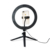 Desktop Dimmable LED Ring Light With Tripod Stand For Makeup Live Broadcast