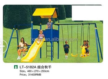 Certificación Ce/juegos Para Niños Al Aire Libre Swing,Jardín Al ...