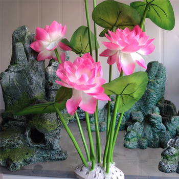 Shandong plastic artificial lotus flower for fishbowl buy lotus shandong plastic artificial lotus flower for fishbowl mightylinksfo