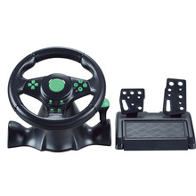OEM 3in1 usb gamepads game steering wheel for x-box360&pc&ps3 car racing videogame controller for dirt-game