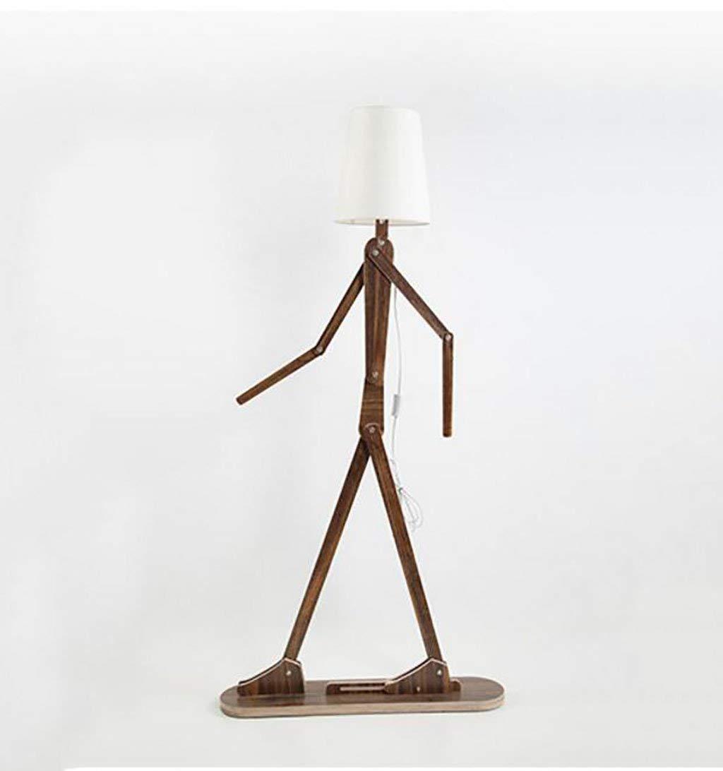 Deco 79 89563 Designer Teak Wood Metal Table Lamp 31 H 31 H Benzara