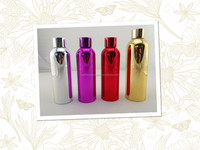 High Quality vacuum metalizing aluminum bottle in any colour as per your request