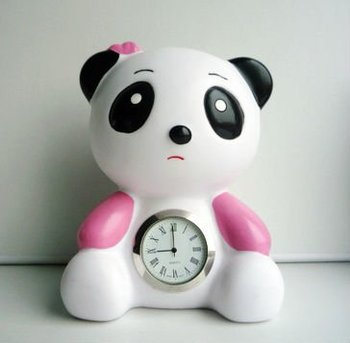 Panda Clock Vinyl Design Toy Buy Diy Vinyl Toy Custom