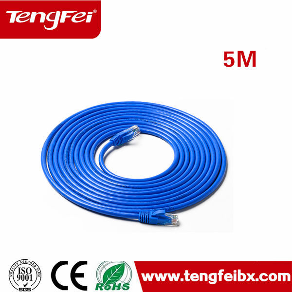 Oem menambahkan logo cat6 patch kabel cat6 kabel patch 2 m 3 m 5 m rj5 kabel patch kabel