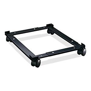 """Wholesale CASE of 5 - Lorell Commercial File Caddy-File Caddy, Adjustable, 11-3/8""""x16-5/8""""x4"""", Black"""