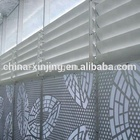 Electrical exterior aluminum shutter/adjustable window shades