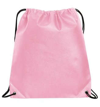 Factory Oem Pink Custom Printed Low Print Drawstring Bag For Shoe Cloth Non Woven