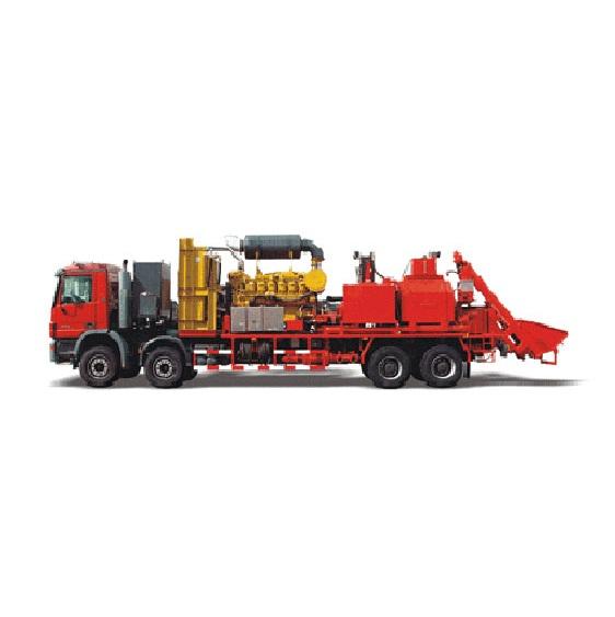 Hs 75 Sand Blender Truck For Oilfield Fracture - Buy Sand Blender Truck  Product on Alibaba com