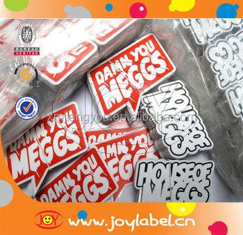 Promotion Custom Printed Vinyl Waterproof Die Cut Sticker Printing - Custom vinyl stickers for promotion
