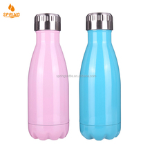 Many Colors Bottle Vacuum Cup Coke bottle 350ML 304 stainless steel Double Wall Water bottle D-18-51