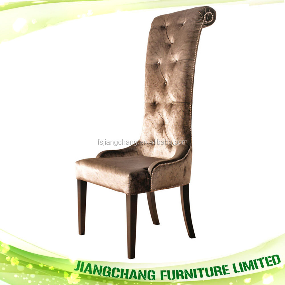 Luxury Hotel High Back Baroque Chair