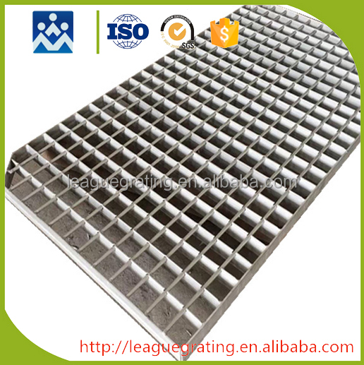 hand made stainless steel trench drain grating with 6 year warranty
