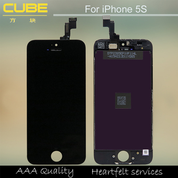 a24057578de Pantalla del LCD del grado del AAA ningún punto muerto píxeles de  reparación para iPhone 5S