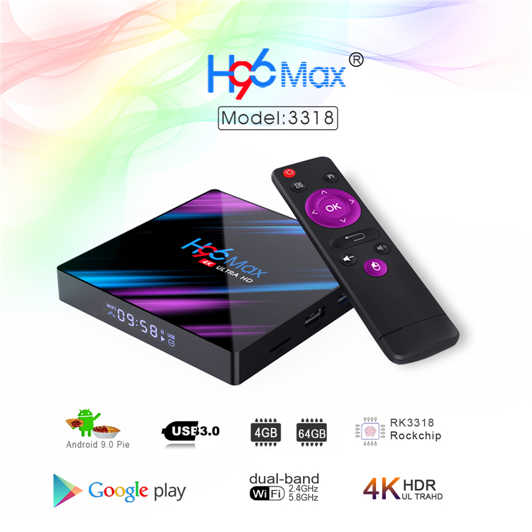 H96-MAX-RK3318-001-(4G64G)