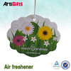 New product flower shaped paper air fresheners supplier cheap price