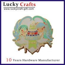 buy promotional lapel pin and badge with imitation enamel