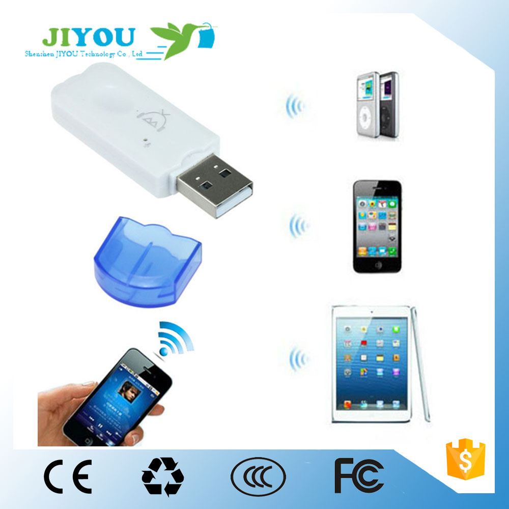 JIYOU USB Bluetooth 4.0 Music Audio Stereo Receiver 3.5mm Audio Stereo Receiver