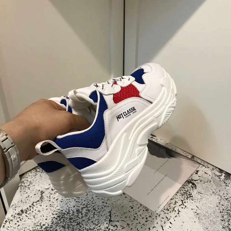 shoes the bottom 2018 sports wild hot casual slope mesh thick with sale inside breathable nOFAwO4a