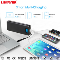 Power Bank 200000mah Externa Portable Charger Powerbank USB Power Bank24v qc2 adjustable output for laptop phone