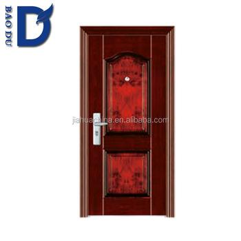 Iron Steel Security Metal Door Interior Steel Security Doors Cheap Security  Door