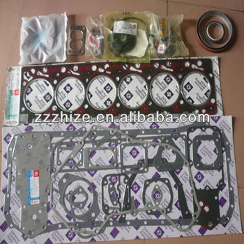zk 6831 yutong bus engine parts general overhaul gasket