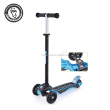 3 wheel electric foldable mini kick scooter for kids