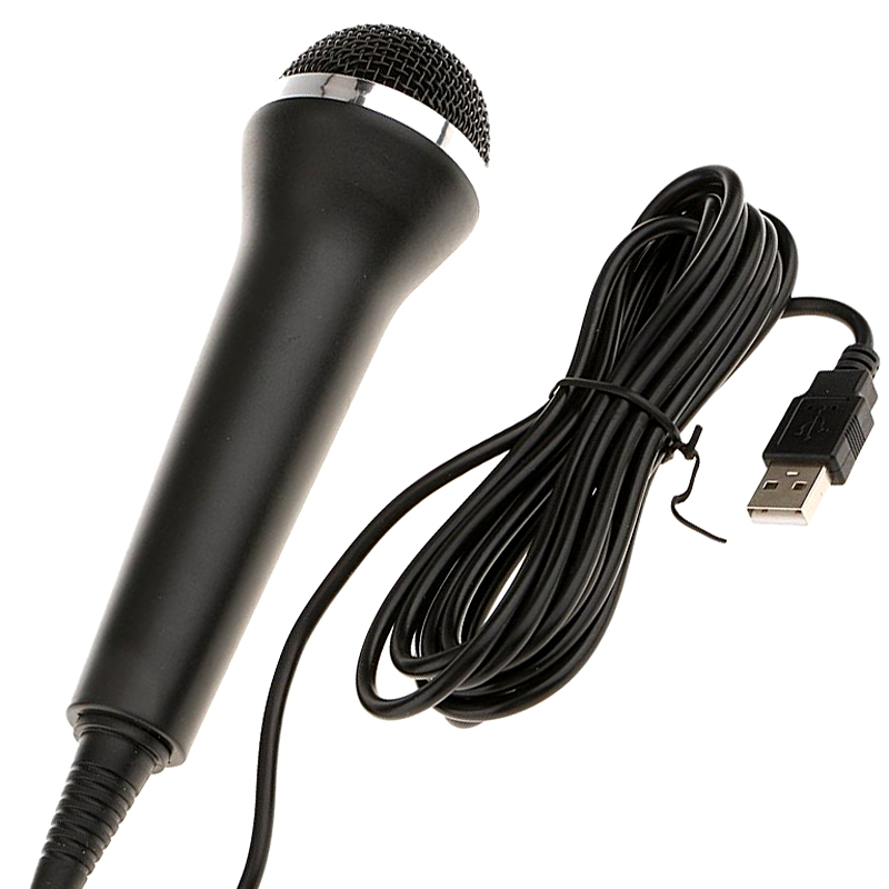 Game Karaoke Microphone For Ps4 Xbox One USB Wired Microphones
