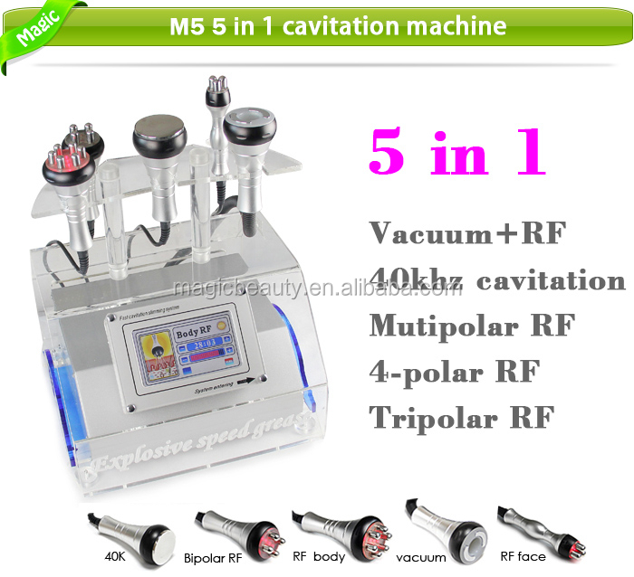 M5 5 in 1 Cavitation RF Starvac SP2 Vacuum Slimming Machine For Sale