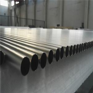 Manufacture Titanium Tube Titanium Seamless Tube ASTM B338 Gr2 Titanium Tube for Heat Exchanger Price