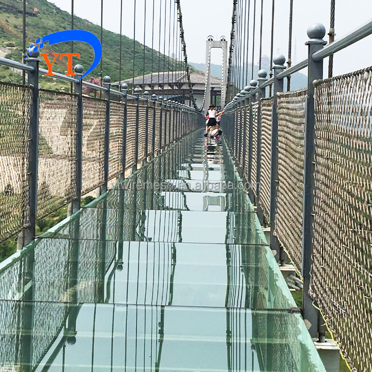 High Strength Flexible Wire Rope Net As Staircase Safety Net - Buy ...