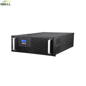 Best selling Single Phase Online Rack Mount UPS 6KVA with external battery