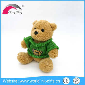 Competitive price wholesale cute colorful custom plush teddy bear