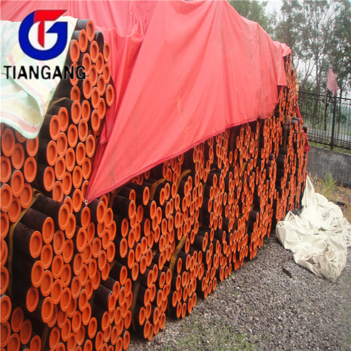 Plastic ASTM A210 GR A1 seamless carbon steel pipe with CE certificate