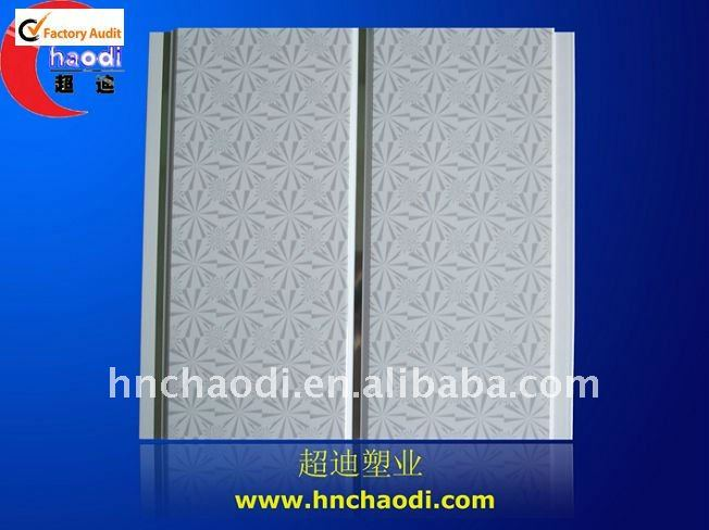 Middle groove decorative ceiling pvc panel (C 0188 )