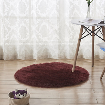 Luxury And Soft Faux Fur Round Rug Best Living Room Carpet - Buy Best  Living Room Carpet,3d Carpet For Living Room,Modern Carpet Living Room  Product ...