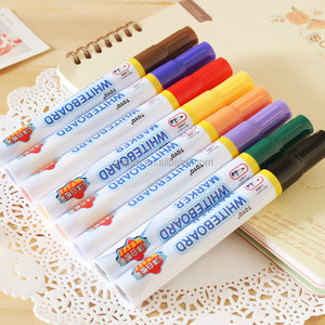 8 Colors pack TOYO Erasble Marker Pen Dry Erase Whiteboard Marker